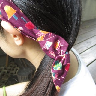 Forwarding tape (manual) - Bow tie ear - Forest leaf violet