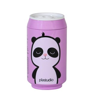 PLAStudio-ECO CAN-280ml-Panda Series-Made from Plant-Purple