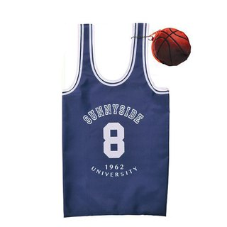 Japan Magnets super love basketball jersey green shopping bag / storage bag (blue) - spot