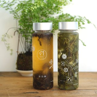 【琅茶】Share good taste / Cold water bottle x 2 + Featured tea