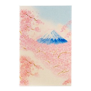 Sakura Fuji pearl and paper [Hallmark-card classic wind / multi-purpose]