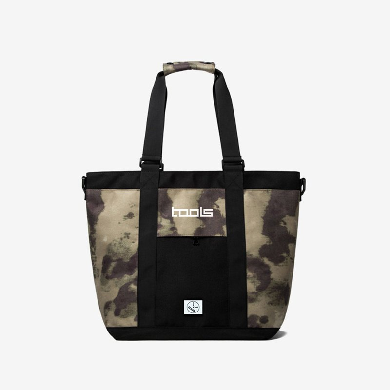 Green Camo Tote Bag