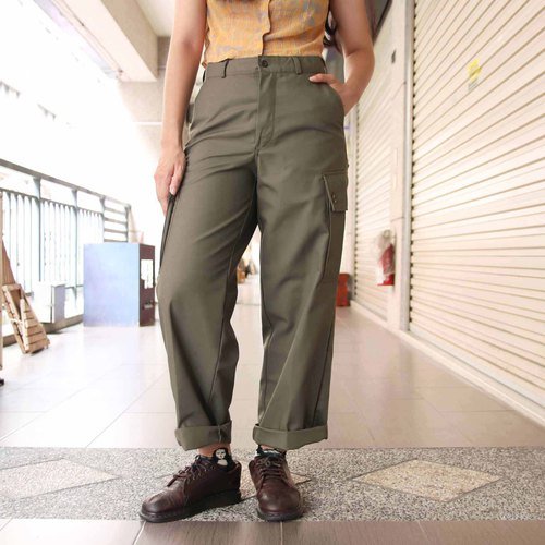 Tsubasa.Y Ancient House West German Army Pants A, Ancient Army Pants Trousers Military Uniforms
