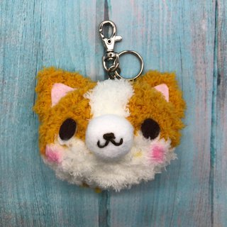 Keji-Foot Doodle Wool Animal Keyring Charm