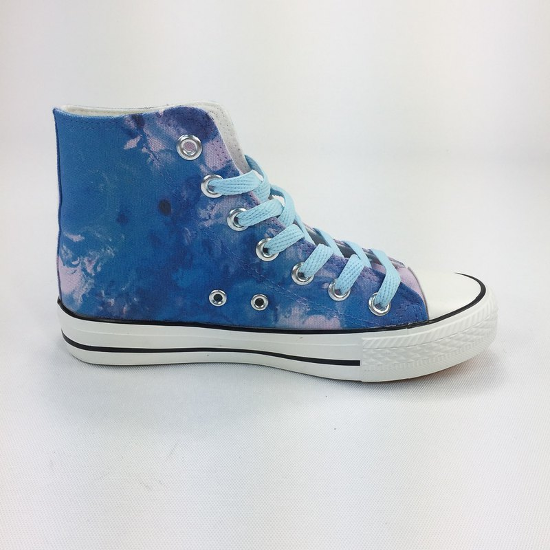 New Designer Series -850Collections- Canvas Shoes (Purple Shoes Light Blue / Women's Limited Edition) -AH18