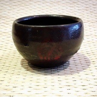 Secondary teachers were black glaze cup