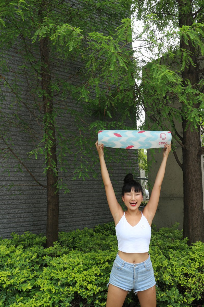 DOUX YOGA MAT - Swaying Tree