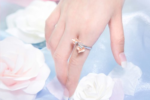 Petals of Rose Ring (2 Tones)