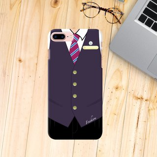 Personalised China Airlines Air Steward / Fight Attendant iPhone Samsung Case