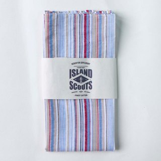 Scouts Bandana - Rainbows Stripes Cotton Linen