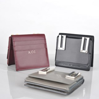 Ava Wallet (customized hot stamped initials)