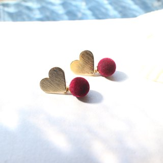 Sweety-Brass earrings
