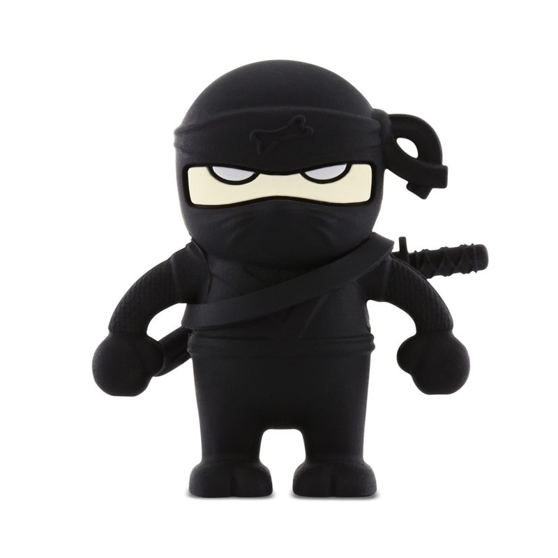 Bone / Ninja Driver Ninja Flash Drive - Black (16G)