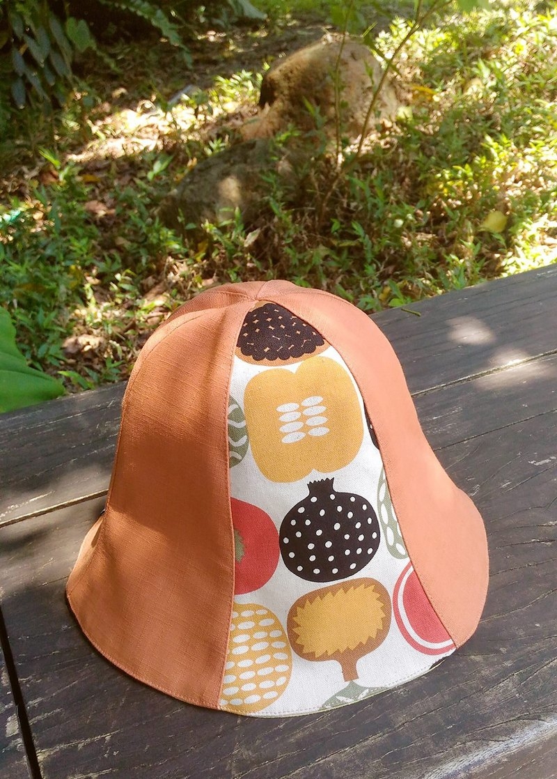 [Pumpkin] field manual double-sided cap / hat / visor