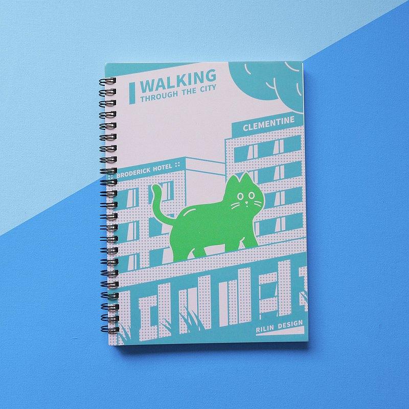 城市漫遊 - A5線圈筆記本