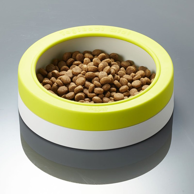 Antibacterial 98.7% food no longer sprinkled mini bowl (lemon green)