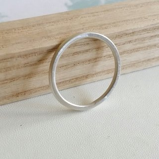 Silver Ring, Summer Light Jewelry, Sterling Silver Handmade Accessories, Round