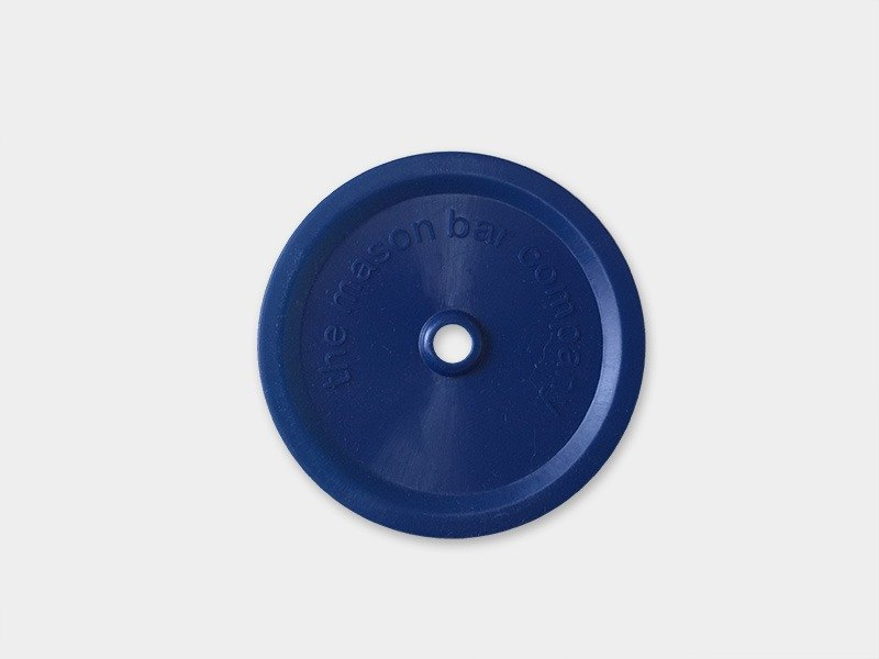 MasonBar Suction Cup Cover - Narrow Blue