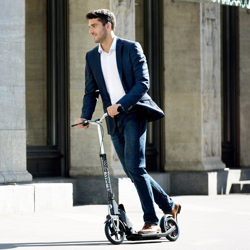Micro Downtown Black Second Collection & Brake Design Scooter