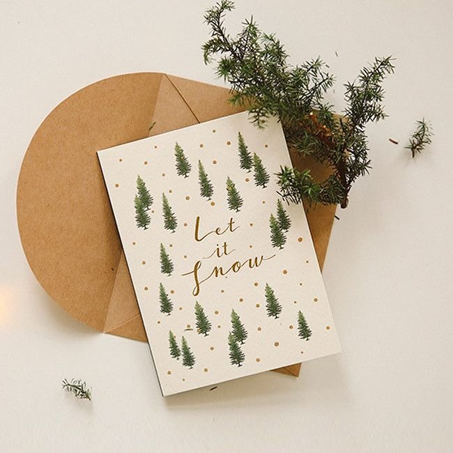 Forest Story Card Envelope Set - 09 Coniferous Woods, E2D46381