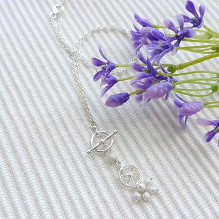 Little Lace Flower Necklace