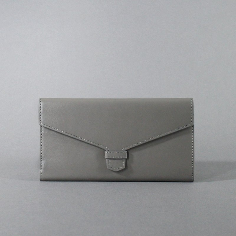 Passion envelopes long gray folder