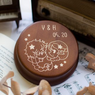 [Birthday gift, commemorative gift, Christmas gift] 12 constellations Pisces / music box