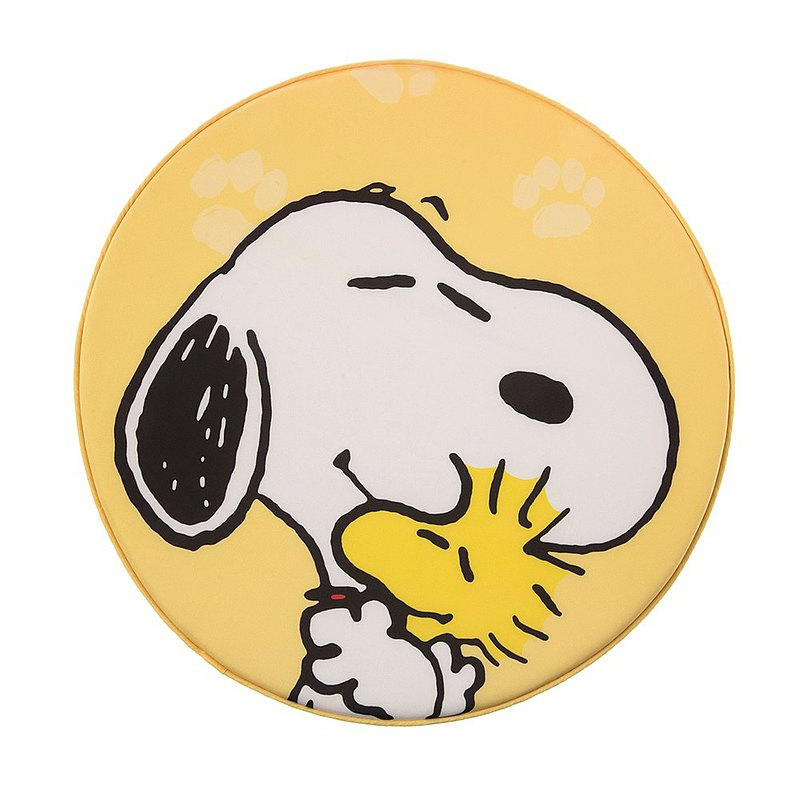 HOLA Snoopy Series Round Memory Foam Cushion-Snoopy