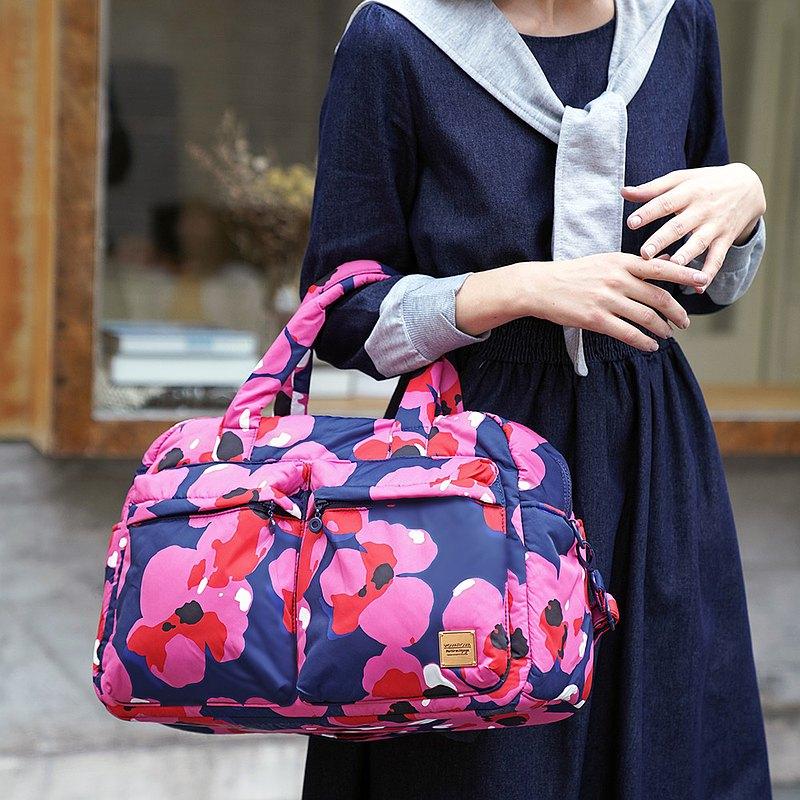 【出行必備】VOVAROVA 防潑水週末旅行袋  -夏之花語