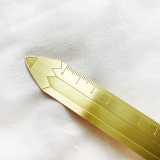 Pencil / Yohand Brass Ruler