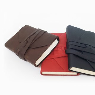 ART-461 Italian soft leather hand-dyed notebook -S | Manufactus