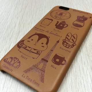 iPhone 6/6s PU Leather case (Cafe) - E006SQE