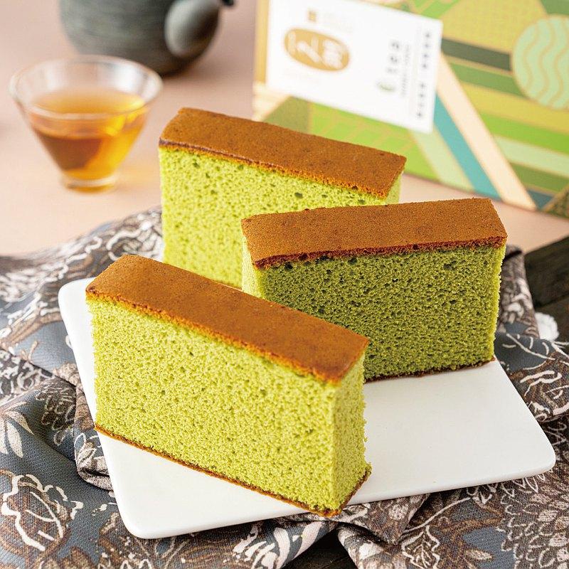翠玉茗茶蜂蜜蛋糕(5片)