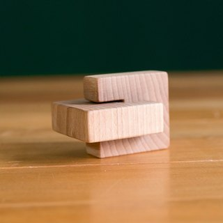 !New Price! Montessori - Lock Block