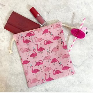 Flamingo Rope Bag