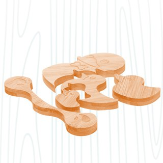 [baby toys] stack duckling / environmentally friendly non-toxic puzzle