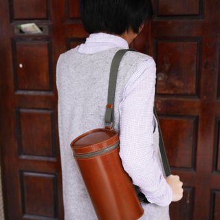 "Island forest ""wood"" shoulder bag"