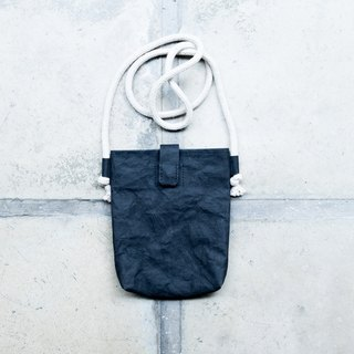[Paper made possible] Plain simple n natural series small bag (black)