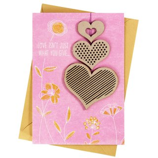 Dedicated to a Special Girl [Hallmark - Creative Handmade Card Birthday Blessing]