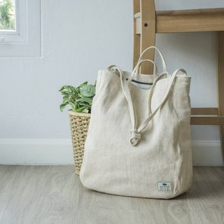 Oversize Tote Bag - natural