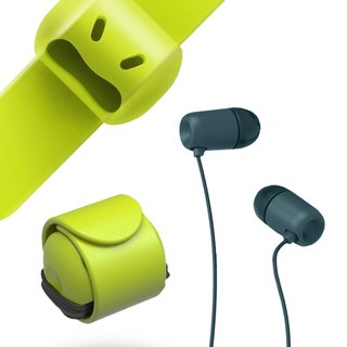 Snappy WOW-earphone butler(Green)