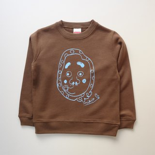 Hyottoko Kids Sweatshirt DarkBrown
