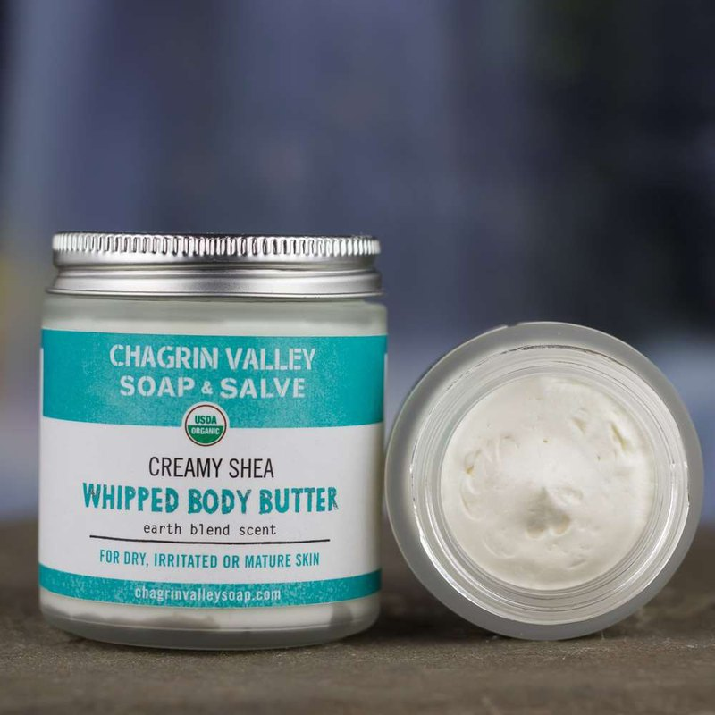 Chagrin Valley - WHIPPED SHEA BUTTER - EARTH BLEND 4OZ
