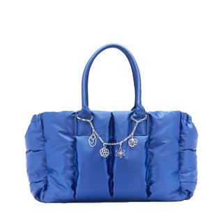 VOUS Luxury Mother Bag Starry Blue + Silver Spring Goddess Charm Set