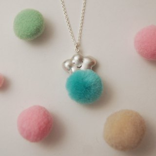 Cute Fluffy Cloud Necklace-Mist Surface