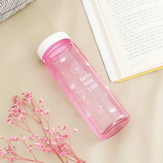 Jenny 500ml Color Ecozen Water Bottle 01.Pink