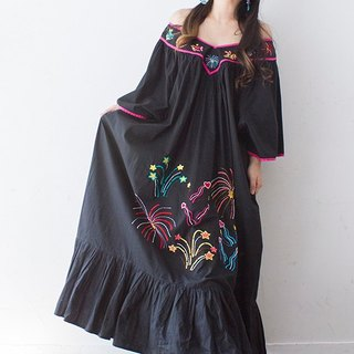 Banana cat. Banana Cats Ultra-Large Oversize Fireworks Show Embroidered American Garden Cotton Dress