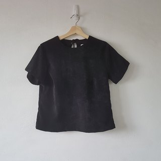 Black basic top