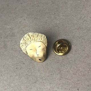 Volkswagen face brass pin 03