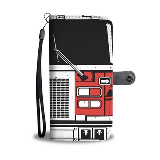 Fire Engine Premium Wallet Phone Case